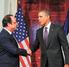 Obama y Hollande comienzan pláticas