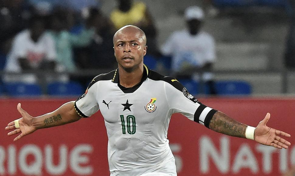 André Ayew le dio el triunfo a Ghana.