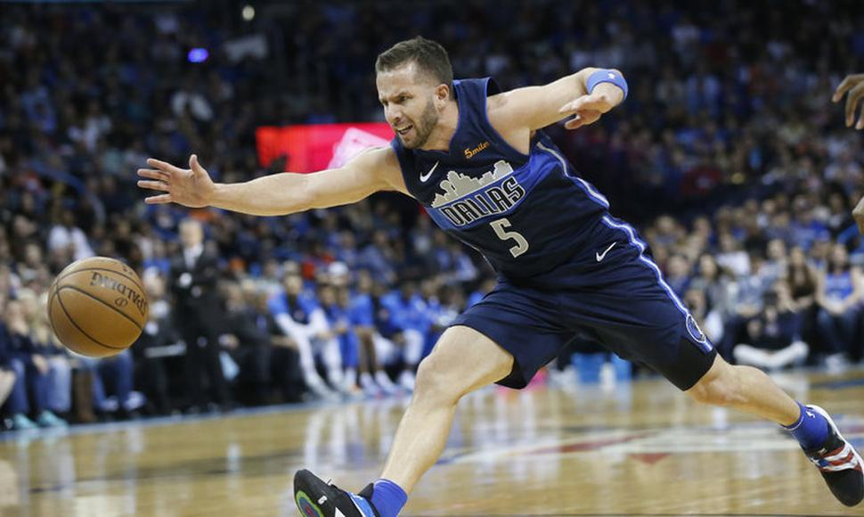 Despite being 34 and playing less than 20 minutes a game, Jose Juan Barea is having a productive season. (Sue Ogrocki/Associated Press)