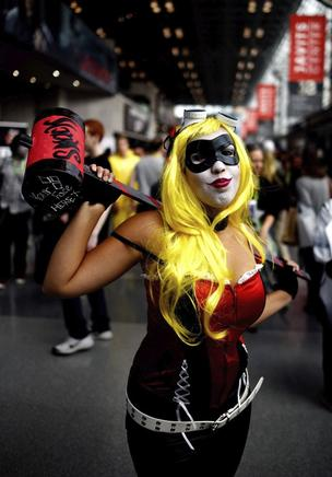 Los cosplayers de la Comic-Con de Nueva York