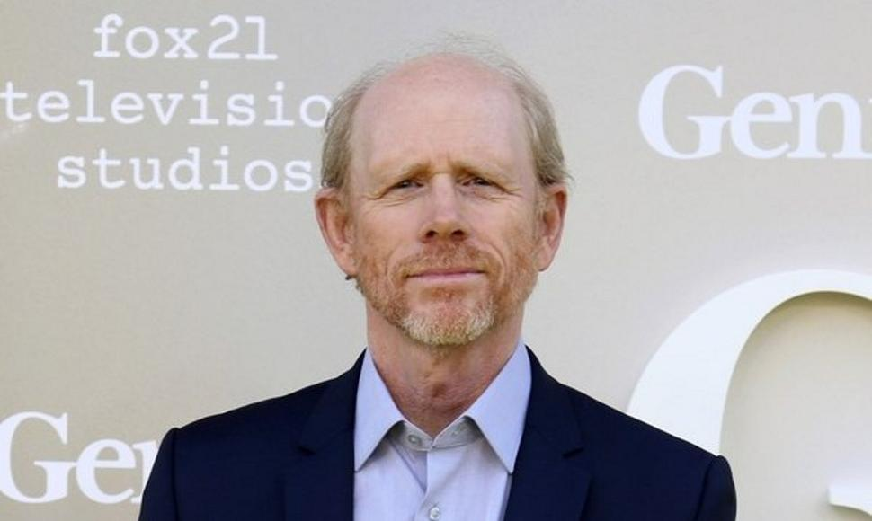 El director estadounidense Ron Howard