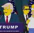 Homero se burla de Donald Trump