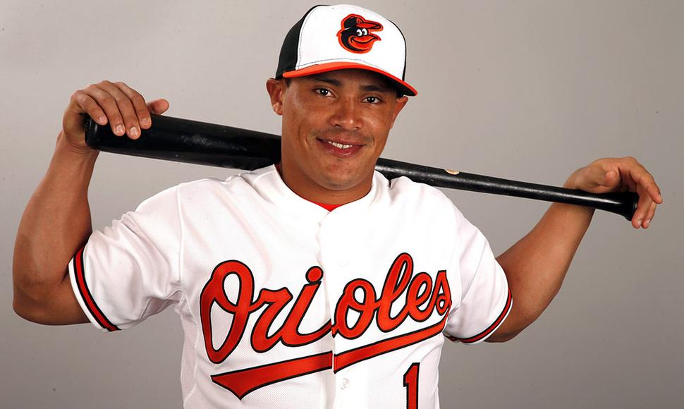 Everth Cabrera disparó tres hits este lunes.