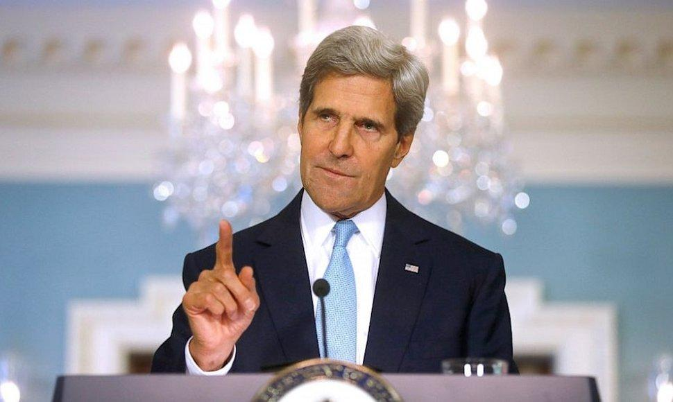 Secretario de Estado John Kerry.