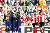 Barcelona vence al Athletic con nuevo gol de Messi