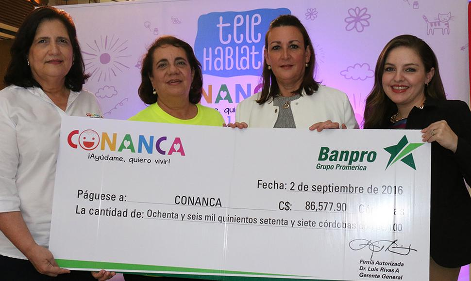 Conanca ha beneficiado a 1,850 niños.