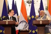 Francia e India firman acuerdo de seguridad para frenar influencia de China