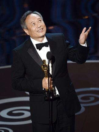 El Oscar 2013 a Mejor Director es para Ang Lee por Life Of Pi. AFP / END