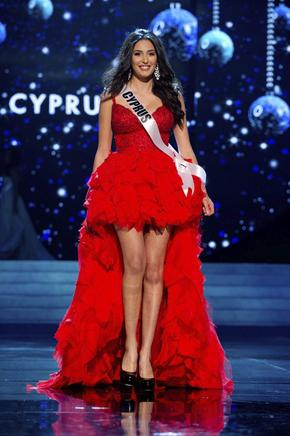 Miss Chipre 2012, Ioanna Yiannakou. EFE / END