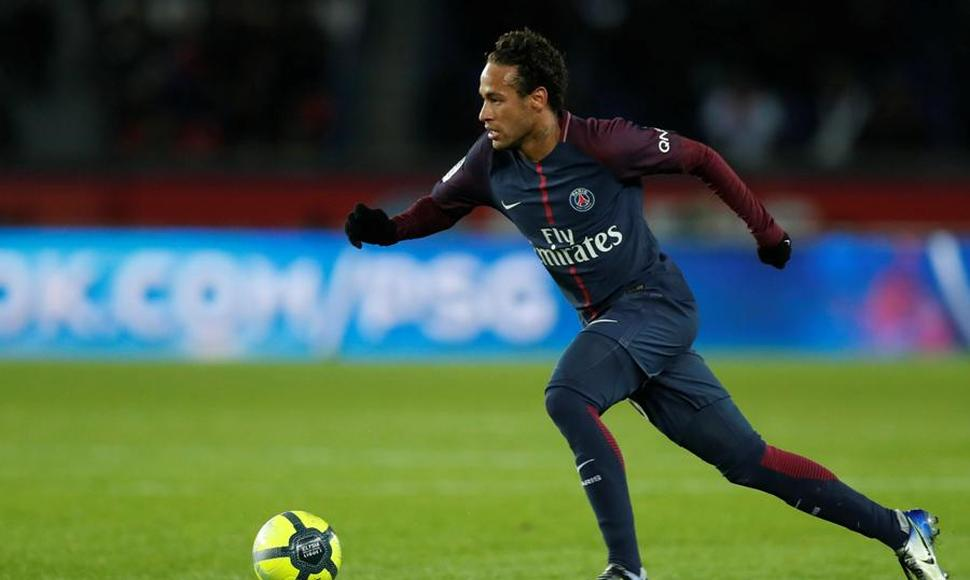 Neymar Jr del París Saint Germain.