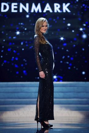 Miss Dinamarca, Josefine Hewitt. EFE / END