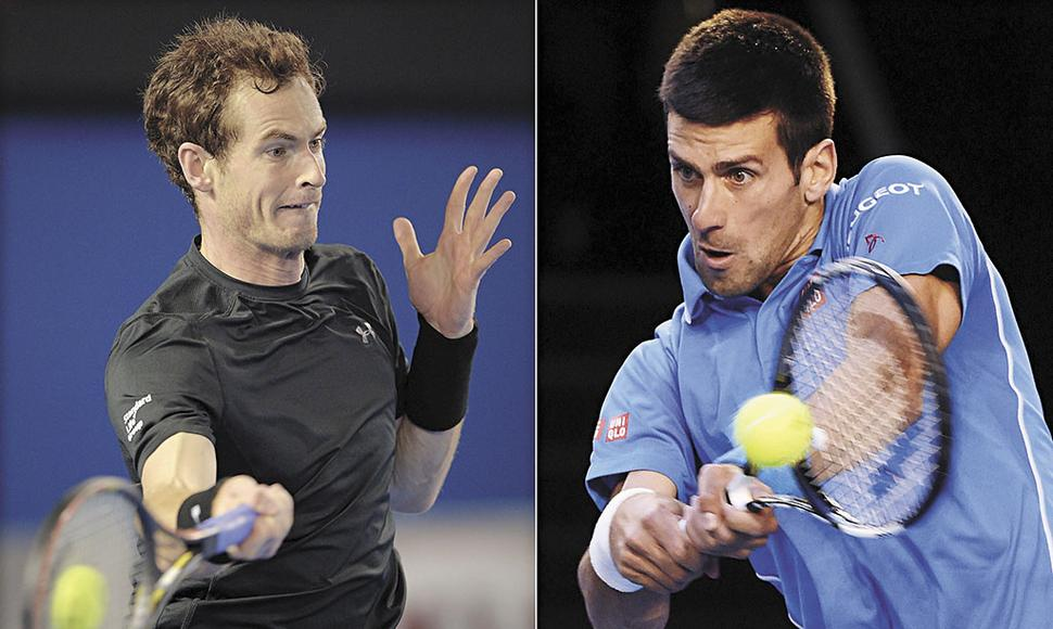 DJOKOVIC SALTA COMO FAVORITO SOBRE MURRAY.