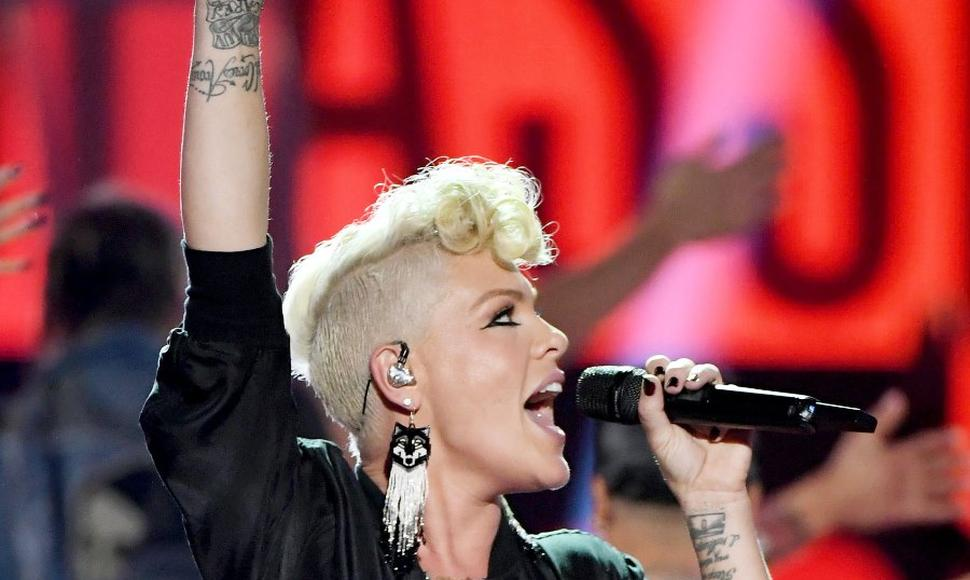 Pink, cantante.
