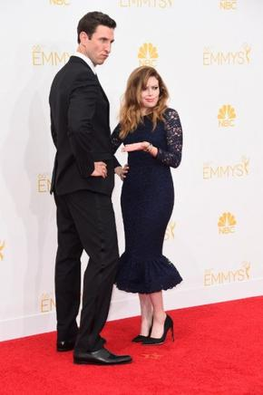 Pablo Schreiber (I) and Natasha Lyonne (D). AFP / END