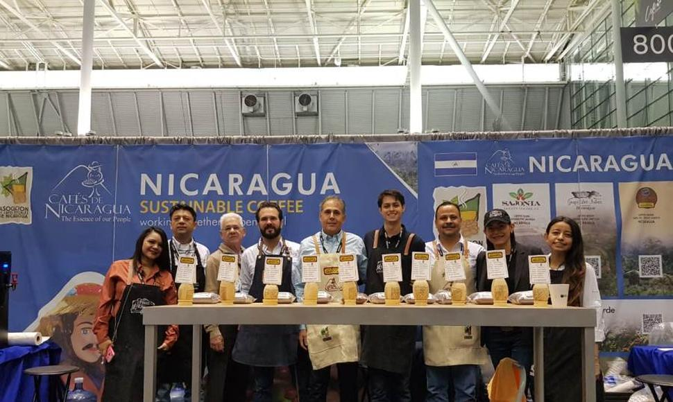 "Productores nicaragüenses estuvieron presente en la feria ""Specialty Coffee Expo 2019"" que se realizó en Boston, Massachusetts. CORTESÍA/END."