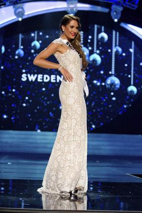 Miss Suecia, Hanni Beronius. EFE / END