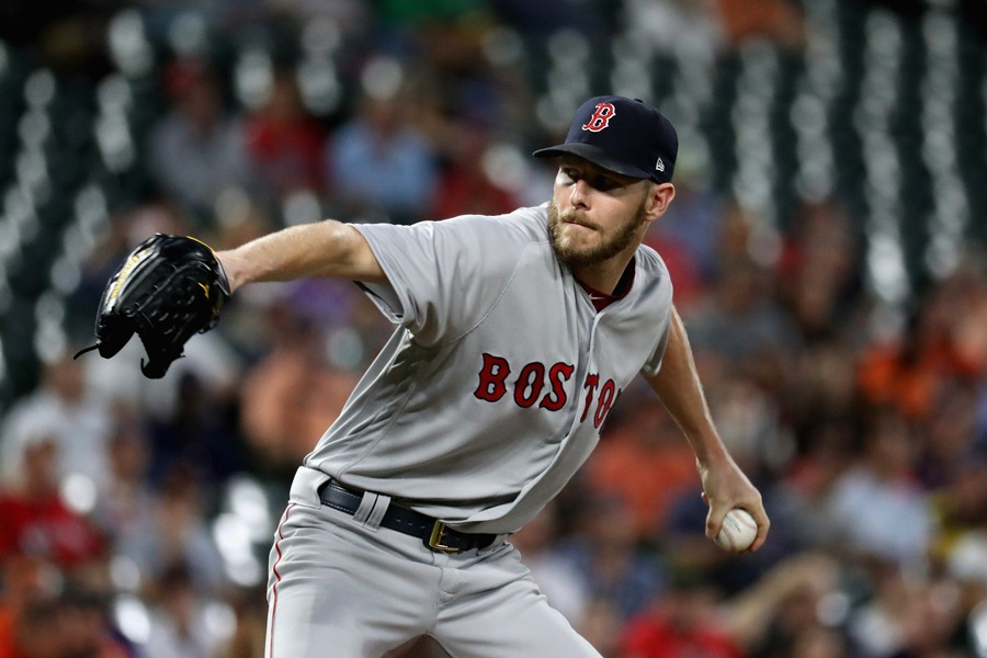 Chris Sale, macabro