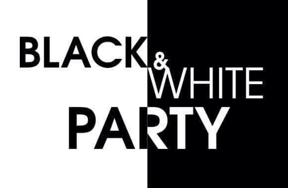 #Black & White Party Traffic Light Fusion